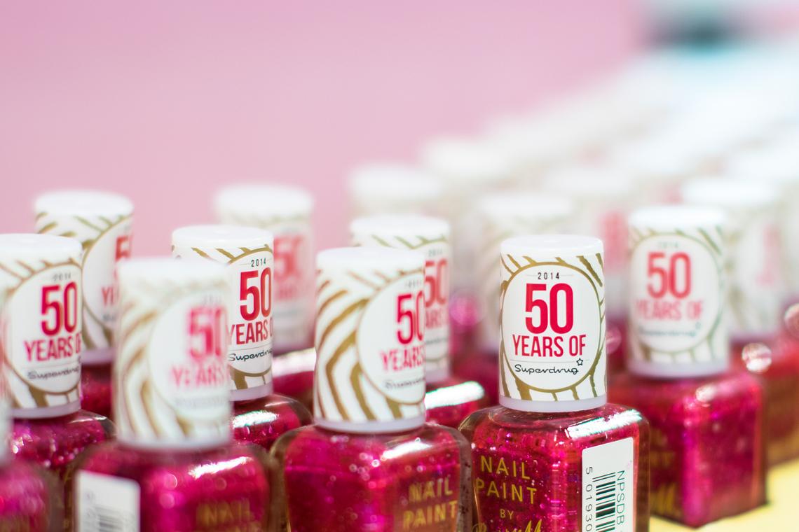 Superdrug 50 Years
